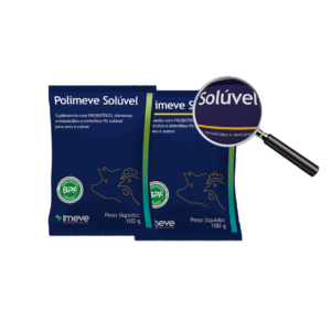 Polimeve – Suplemento solúvel com probiótico, vitaminas, aminoácidos e eletrólitos