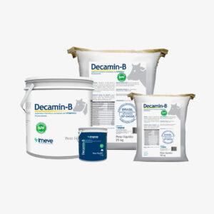 Decamin-B Pó – Suplemento vitamínico e aminoácido, com probiótico